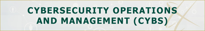 Cybersecurity Operations & Management, Undergraduate (CYBS)