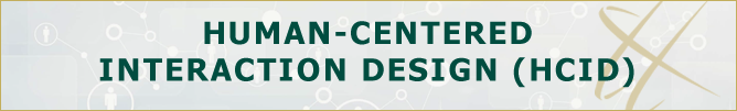 Human-Centered Interaction Design, Graduate (HCID)