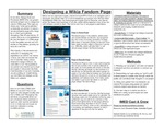 2019: Designing a Wikia Fandom Page